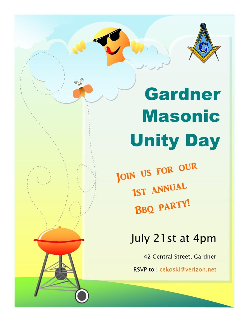Masonic Unity Day